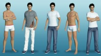 Chathouse 3D gay models from real time gay game