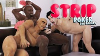 Strip gay game with black and white