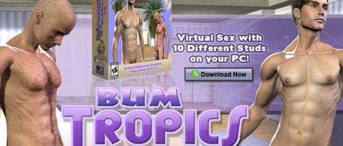 XXX Bum Tropics 3D gay porn simulation