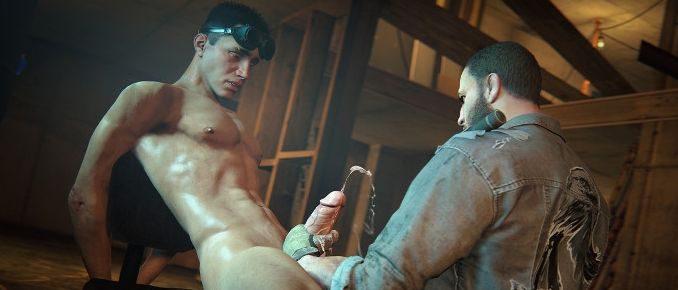 Gay online porn games